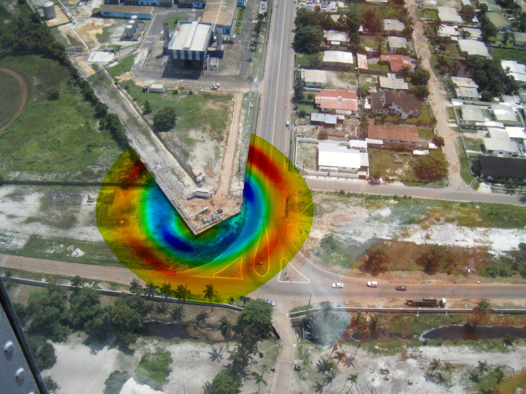 Simulation d un UVCE sur un site de distribution de gaz naturel