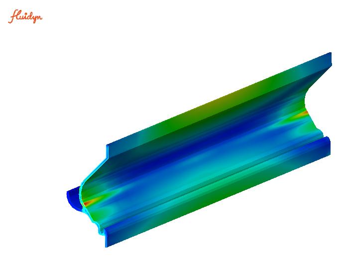 Contraintes sur un volet de grille de ventilation